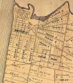 Detail of Stanley township map, 1879